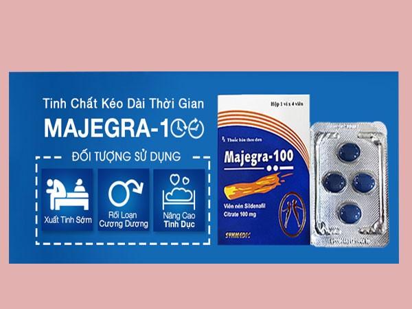 Thuốc Majegra 100mg