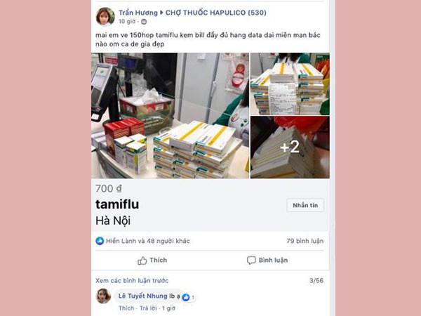 Thuốc Tamiflu