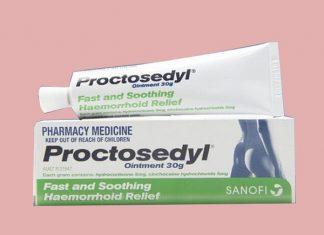 Thuốc Proctosedyl