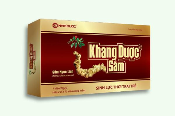 Khang dược sâm cũng là một sản phẩm hỗ trợ sinh lý nam giới