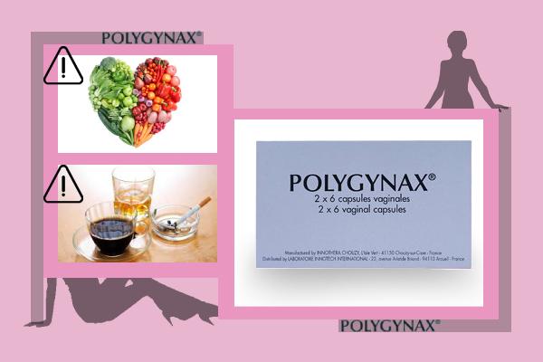 Thực phẩm và rượu bia có ảnh hưởng đến Polygynax