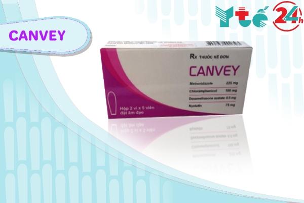 Thuốc đặt phụ khoa Canvey là gì?