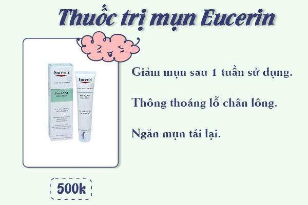thuốc trị mụn eucerin