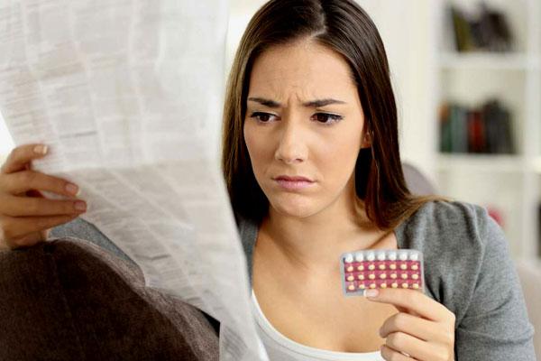 Quên không uống thuốc tránh thai