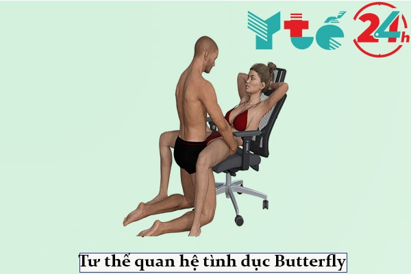 Tư thế quan hệ tình dục trên ghế - Butterfly