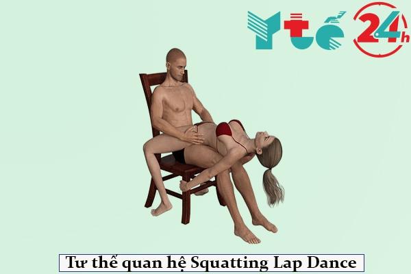 Tư thế quan hệ Squatting Lap Dance