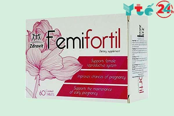 Công dụng của Femifortil