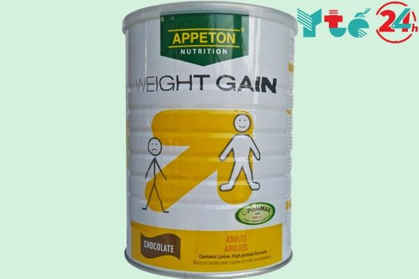 Sữa bột tăng cân cho người gầy Appeton Weight Gain