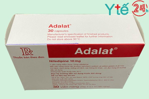Thuốc Adalat là thuốc gì?