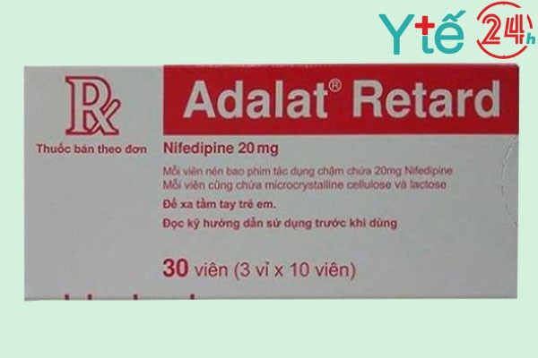 Adalat Retard 20 mg