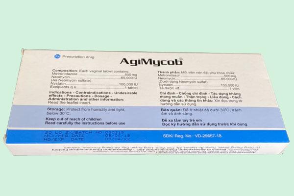 Lưu ý khi sử dụng thuốc Agimycob 500