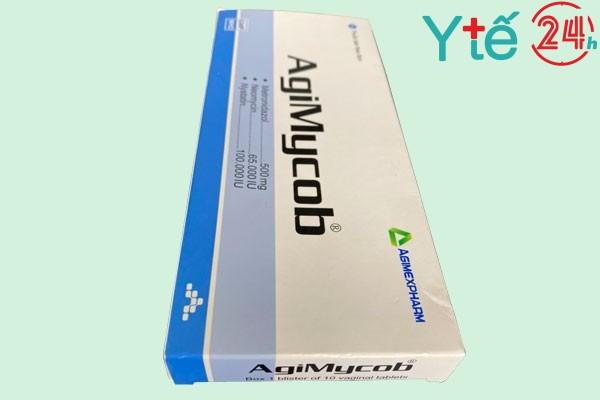 Thuốc đặt AgiMycob 500 có tác dụng gì?