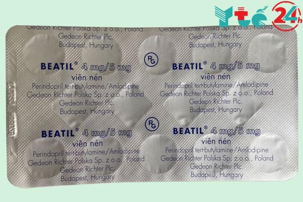 Cách dùng – liều dùng của thuốc Beatil 4mg/5mg