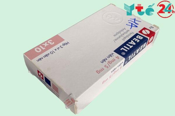 Công dụng - Chỉ định của thuốc Beatil 4mg/5mg