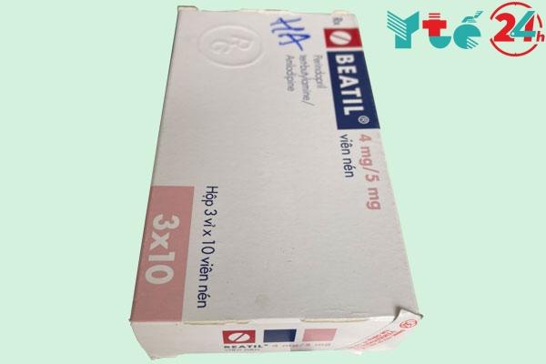 Tương tác của thuốc Beatil 4mg/5mg với dược chất khác