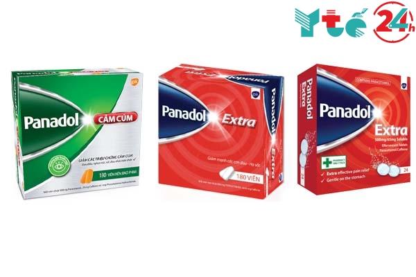 Các loại Panadol Extra