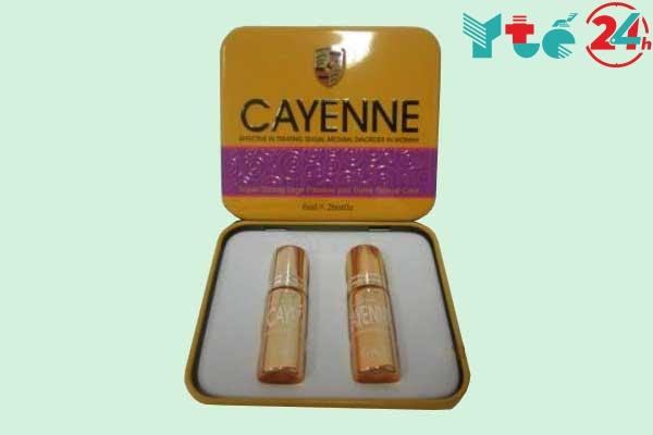 Thuốc kích dục nữ Cayenne