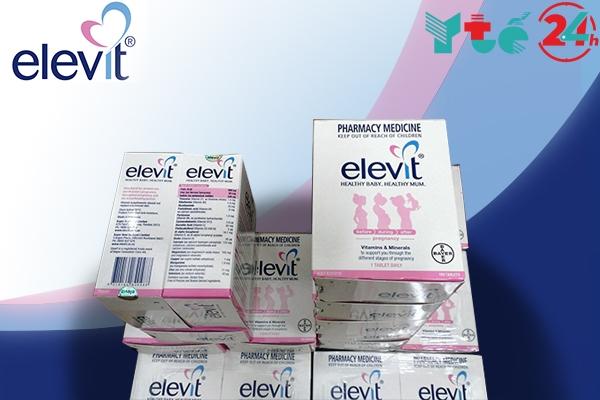 Một hộp Elevit có bao nhiêu vỉ?