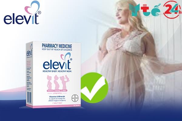 Elevit là sản phẩm được khuyến cáo nên sử dụng cho mẹ bầu