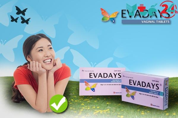 Evadays là sản phẩm được bác sỹ khuyên dùng