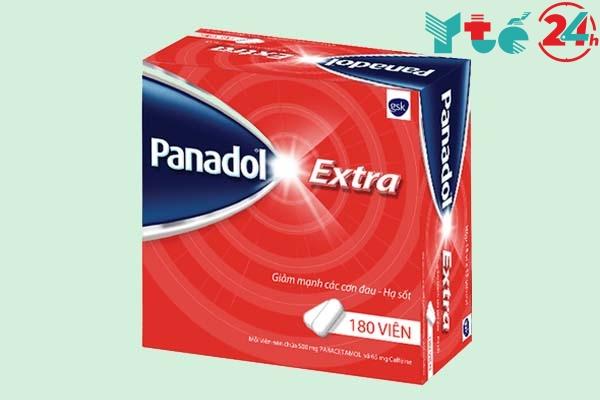 Giá của một hộp Panadol Extra 180 viên là 217.000đ