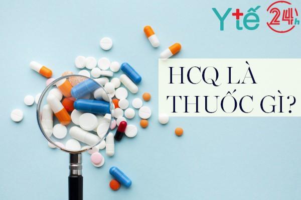 Thuốc HCQ 200mg là thuốc gì?