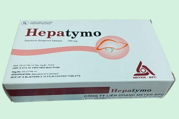 Lưu ý khi sử dụng Hepatymo 300mg