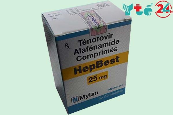 HepBest 25mg là thuốc gì?