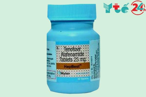 Hình ảnh lọ thuốc HepBest 25mg