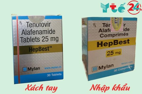 Phân biệt thuốc Hepbest xách tay và thuốc Hepbest nhập khẩu