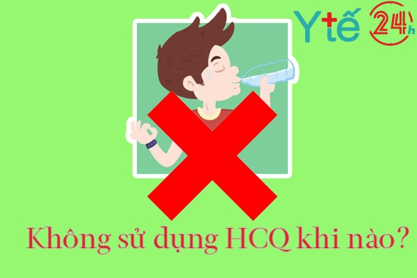 Chống chỉ định thuốc Hydroxychloroquine 200mg