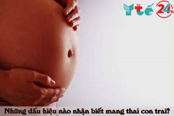 Dấu hiệu nhận biết mang thai con trai