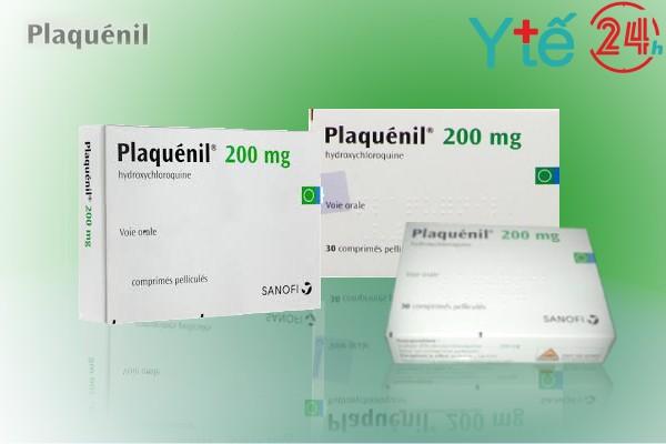 Plaquenil 200mg có hoạt chất chính là Hydroxychloroquine