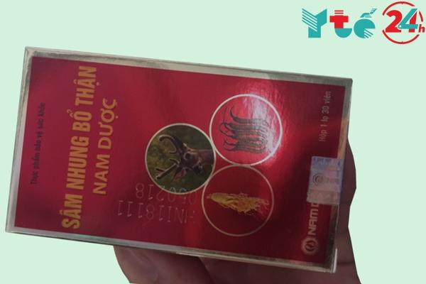 Hướng dẫn cách sử dụng và liều dùng Sâm Nhung Bổ Thận Nam Dược