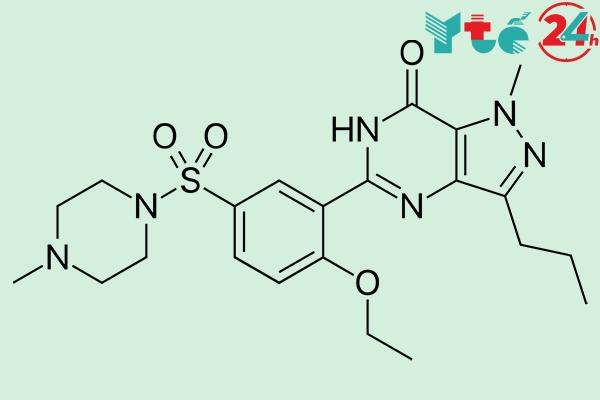 Sildenafil - Thành phần chính của thuốc cường dương Viagra