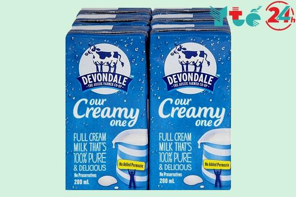 Sữa dành cho bé biếng ăn chậm tăng cân Devondale