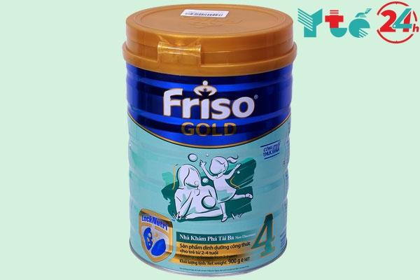 Sữa nào giúp bé tăng cân nhanh nhất - Friso Gold