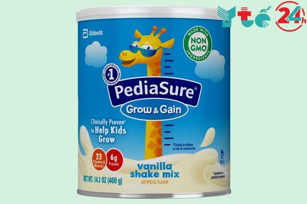 Sữa giúp trẻ tăng cân nhanh Pediasure