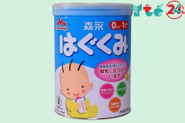 Sữa dành cho trẻ chậm tăng cân Morinaga