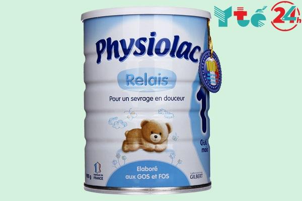 Sữa nào tăng cân tốt cho bé dưới 1 tuổi - Physiolac