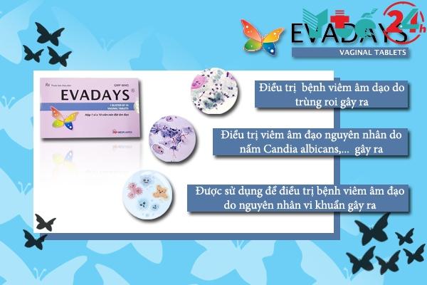 Tác dụng của Evadays