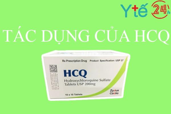 Thuốc HCQ 200mg có tác dụng gì?