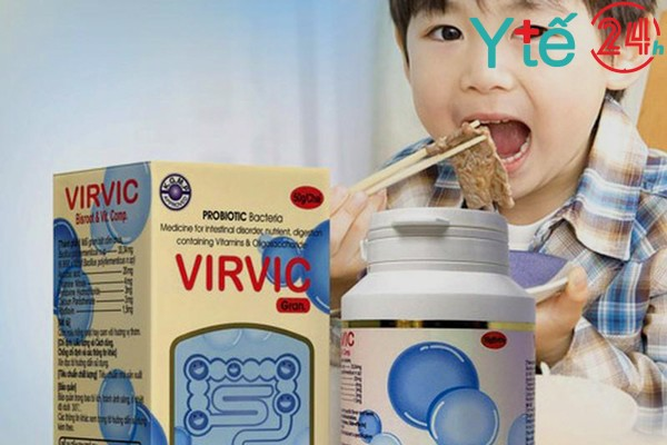 Tác dụng của thuốc Virvic Gran