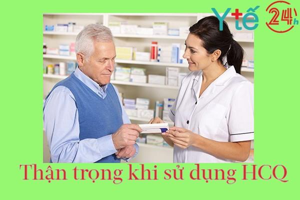 Lưu ý khi sử dụng thuốc HCQ 200mg