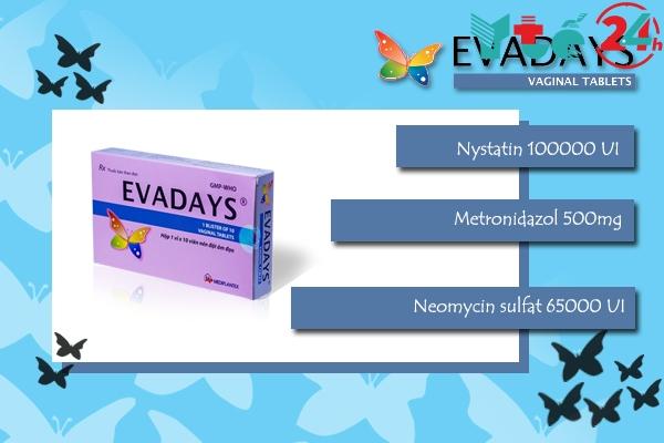 Thành phần của Evadays