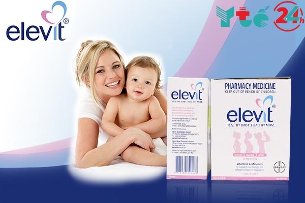 Thực phẩm chức năng Elevit nhận được nhiều phản hồi tích cực.