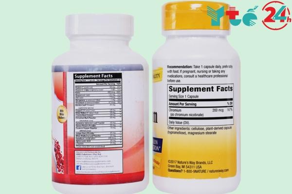 Bộ đôi thảo dược Pocadia - Blood Sugar Matrix