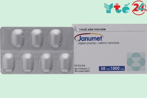 Thuốc tiểu đường Janumet