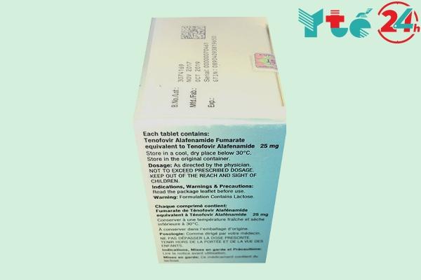 Tác dụng phụ thuốc Hepbest 25mg