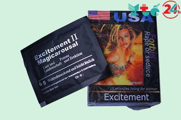 Thuốc kích dục nữ dạng bột Excitement